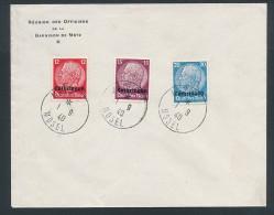 Luxemburg Garnision Metz Stempel Beleg   O  (bc7830 ) Siehe Scan  ! - Besetzungen 1938-45