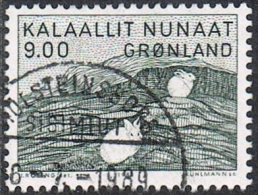 Greenland SG156 1985 130th Birth Anniversary Of Gerhard Kleist 9k Good/fine Used - Used Stamps