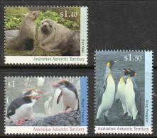 Australian Antarctic AAT 95/97 ** Faune Antarctique (machots, Phoques) - Unused Stamps