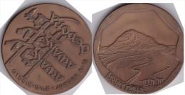 Medaille Aus Israel -Mounttabor- - Entriegelungschips Und Medaillen