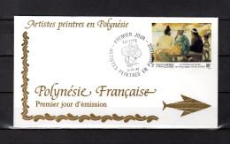 """Enveloppe 1er Jour De 1993 """" ARTISTES PEINTRES EN POLYNESIE : SHELSHER """". N° YT 447. Parfait. état. FDC"""
