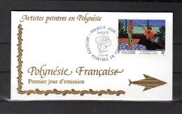"""Enveloppe 1er Jour De 1993 """" ARTISTES PEINTRES EN POLYNESIE : VAEA """". N° YT 445. Parfait. état. FDC"""