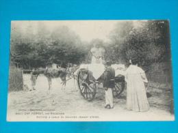 33 ) Cap Ferret - N° 8307 ( Boucherie Ambulante ) Voiture à Sable Du Boucher Venant D'arès - An 1913 - EDIT - Guillier - France