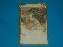 Illustrateurs ) Syle Mucha -  N° 1 - Arts Nouveaux - égypte - Année 1901 - EDIT - Storch - 1900-1949