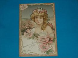 Illustrateurs ) Syle Mucha -  N° 2 - Arts Nouveaux -  - Année 1901 - EDIT - Storch - 1900-1949