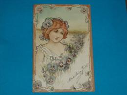 Illustrateurs ) Syle Mucha -  N° 3 - Arts Nouveaux -  - Année 1901 - EDIT - Storch - Illustrateurs & Photographes