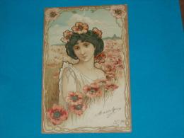 Illustrateurs ) Syle Mucha -  N° 5 - Arts Nouveaux -  - Année 1901 - EDIT - Storch - Illustrateurs & Photographes