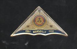 PINS PIN'S TIR A L'ARC 1ere COMPAGNIE ARCHER MARSEILLE - Tir à L'Arc