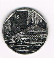 ***  CUBA  1 PESO  1994 - Cuba