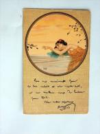 Carte Postale Ancienne : Raphael KIRCHNER : Fables 2, 1903 - Kirchner, Raphael