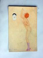 Carte Postale Ancienne : Raphael KIRCHNER : La Gourmandise - Kirchner, Raphael