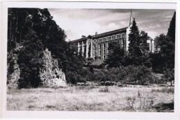 Cpsm ABBAYE SAINTE MARIE DE LA PIERRE QUI VIRE Le Monastere Cote Ouest - France