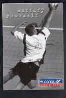 "Volleyball / Publicité Et Jeu Concours "" Rucanor Sorting Goods ( Carte Double ) - Volleyball"