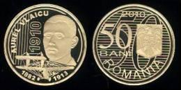 """RUMANIA / ROMANIA  50 Bani 2.010  2010   """"AUREL VLAICU""""   SC/UNC  T-DL-10.123 - Romania"""