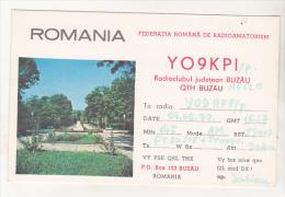 Romania Old 1979 QSL Card - QTH Buzau - QSL Cards