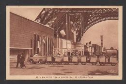 DF / 75 PARIS / EXPOSITION INTERNATIONALE 1937 / UN PETIT TRAIN ELECTRIQUE DE L'EXPOSITION - Exhibitions