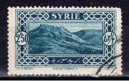 SYR+ Syrien 1925 Mi 271 Kalat Yamour - Oblitérés