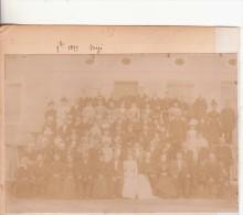 Photo -   MIGE (89)................................photo Familiale D'un Mariage - Places
