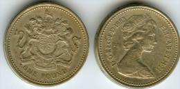 Grande Bretagne Great Britain 1 Pound 1983 KM 933 - 1971-… : Monnaies Décimales