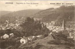 LAROCHE   ---  Panorama Du Thier Du Gravier - La-Roche-en-Ardenne