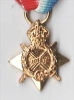 MEDAILLE MINIATURE  ETOILE Combattants 1914-15 AUSTRALIE - Médailles & Décorations