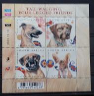 South Africa, 2003, Mi:1506/09 (MNH) - Dogs