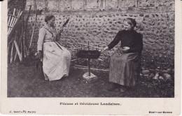 CPA - LANDES (40) - Fileuse Et Dévideuse Landaises - Circulé 1904 BE (lot 3-95) - Unclassified