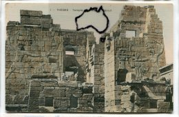 - EGYPTE - THEBES - Temple Du Medinet Haboute, Magnifique, Non écrite, TBE, Scans. - Pyramids