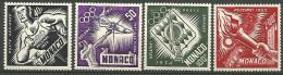 MONACO PA  N�  51 / 54  NEUF*   LEGERE TRACE DE CHARNIERE / MH