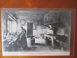 ST MARTIN DE LIGUGE A CHEVETOGNE L ATELIER DU  FRERE SERRURIER DOS 1900 RARE - Ciney