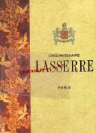 75 - PARIS - CINQUANTENAIRE RESTAURANT LASSERRE - ADELINE LAFORGUE- DALI- PHOTOS KENNETH POULSEN - ZAGRADSKY-1996 - Gastronomie