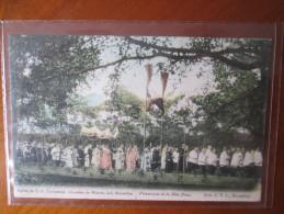 BRUXELLES PROCESSION DE LA FETE DIEU DOS 1900 - Marchés
