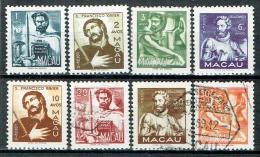 Macau 1951 Michel N°  375-82 MH/gestempelt - Macao