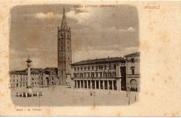 Emilia Romagna-forli Veduta Piazza Vittorio Emanuele Primi 900 - Forlì
