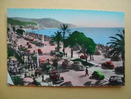 NICE. La Promenade Des Anglais. - Squares