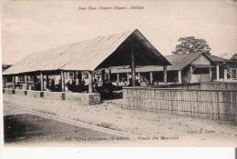 COTE D'IVOIRE 12 DABOU PLACE DU MARCHE - Côte-d'Ivoire