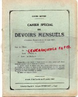 87- SAINT BRICE - 19- EYBOULET USSEL- CAHIER ECOLE ODETTE DUNEIGRE COURS ELEMENTAIRE - ANNEES 1940 - Blotters