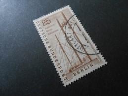 Berlin (West)  Mi157 - 25Pf -  Deutsche Industrie-Ausstellung  1956 - Used Stamps