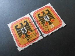 Berlin (West)  Mi136+137 Satz - Deutscher Bundesrat In Berlin  1956 - Used Stamps