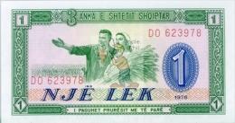 ALBANIE - ALB-1LEK-1976 / P33 - NEUF / UNC - COTE IPCbanknotes: 2,00€ - - Albanien