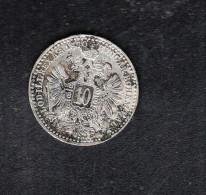 Österreich 10 Kreuzer 1870 - Autriche