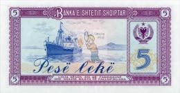 ALBANIE - ALB-5LEK-1976 / P35 - NEUF / UNC - COTE IPCbanknotes: 5,00€ - - Albanien