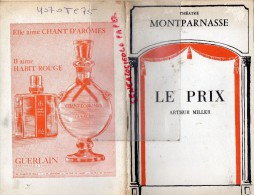 75- PARIS - THEATRE  MONTPARNASSE - LE PRIX ARTHUR MILLER-MAULNIER-PIERRE MONDY-ETIEVANT-DAUPHIN-ROCHEFORT-1969-SCHMIDT - Programmes