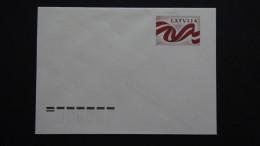 Latvia - 1990 - Mi: U2** - Postal Stationery - Look Scan - Lettland