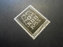 Berlin (West)  Mi110 - 20Pf - Volksaufstand Am 17. Juni In Der DDR Und Ostberlin  1953 - Used Stamps