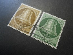 Berlin (West)  Mi101+102 - Einweihung Der Freiheitsglocke Des Schöneberger Rathauses  1953 - Used Stamps