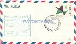 14654 ARGENTINA COVER AVIATION AVIACION VUELO INAUGURAL AVIANCA BS AS - BOGOTA YEAR 1964 NO POSTAL POSTCARD - Sin Clasificación