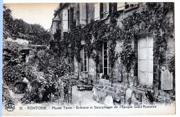 Pontoise (Val-d'Oise) Musée Tavet, Dolmens Et Sarcophages. - Pontoise