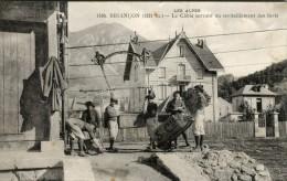 CPA 05 BRIANCON LE CABLE SERVANT AU RAVITAILLEMENT DES FORTS 1914 - Briancon