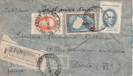 Lettre Argentine Pour La France - Covers & Documents